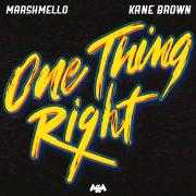 Details Marshmello & Kane Brown - One Thing Right
