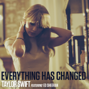 Coverafbeelding Taylor Swift featuring Ed Sheeran - Everything has changed
